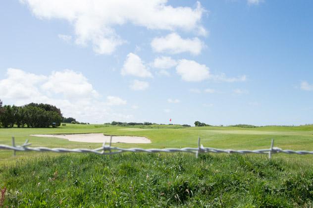 Le golf d'Etretat