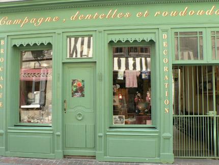Boutique à Honfleur