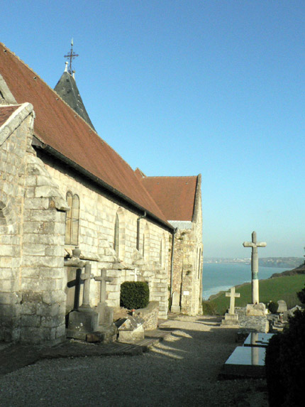 Eglise et cimetière marin