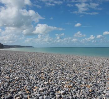 La belle plage de Dieppe ©Leslie LEFEBVRE