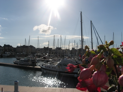 St Vaast la Hougue, le port