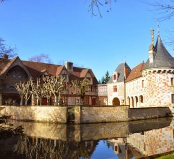 Château de St Germain de Livet dans le Calvados ©Leslie LEFEBVRE