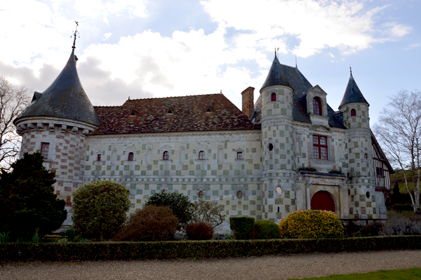 Château St Germain de Livet près de Lisieux