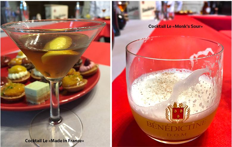 Les cocktails à la Bénédictine