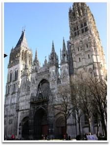 La cathédrale de Rouen si chère à Monet