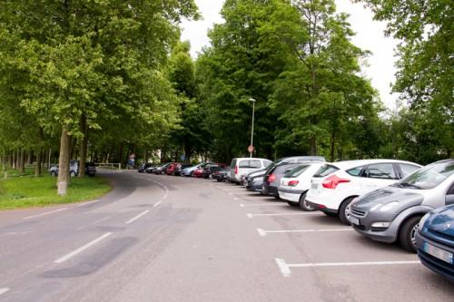 Parking Caen-Prairie voie verte
