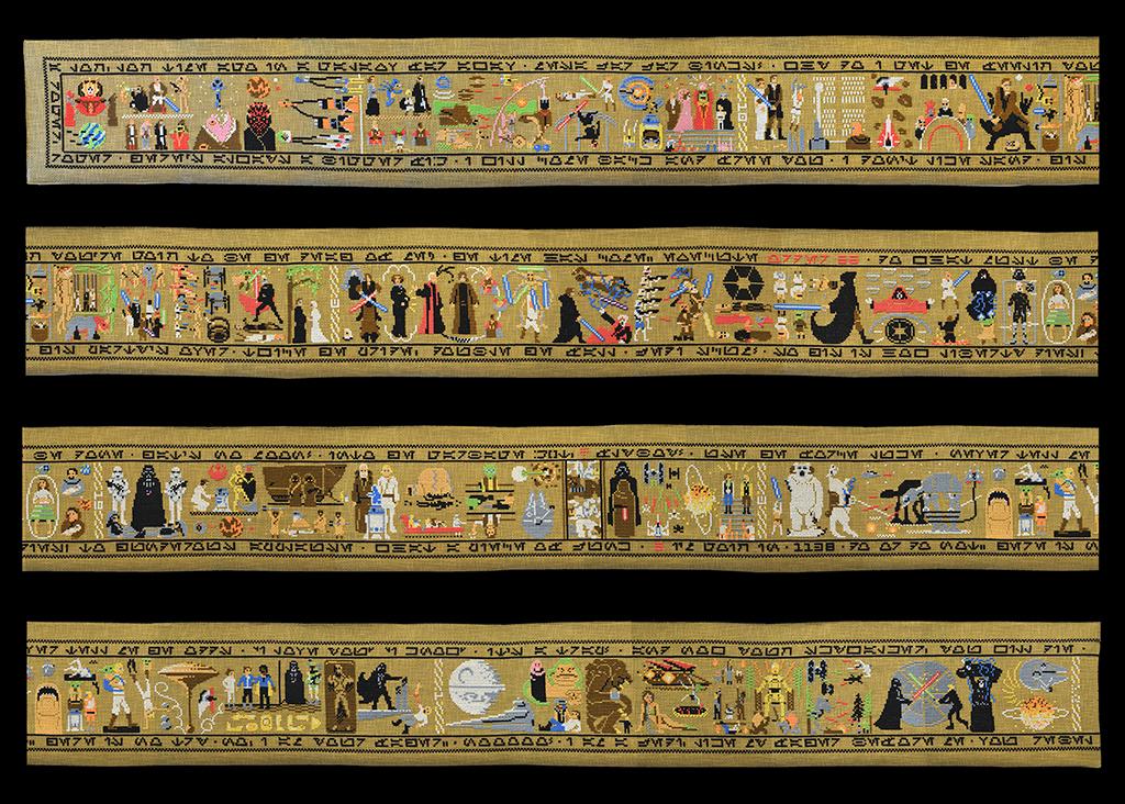 Bayeux la tapisserie de bayeux sa cath drale sa dentelle - Tapisserie de bayeux animee ...