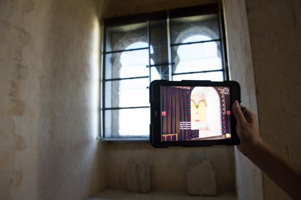 Découverte interactive du château