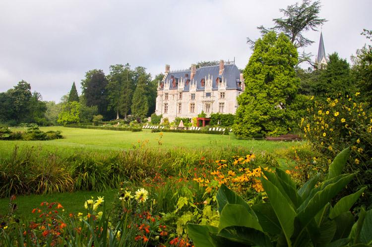 Château du parc animalier de Clères