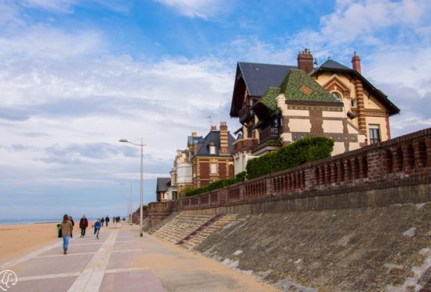 Promenade Roland Garros Houlgate ©Leslie LEFEBVRE