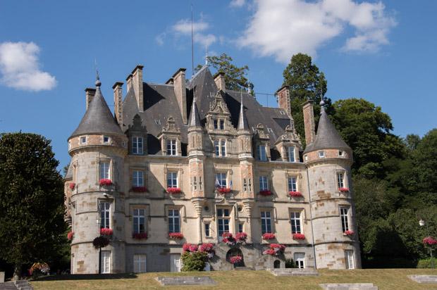 L'hôtel de ville de Bagnoles-de-l'Orne