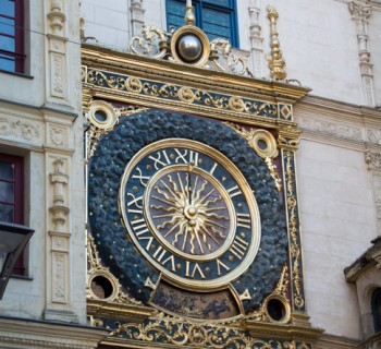 Le Gros Horloge à Rouen ©Leslie LEFEBVRE