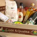 Goût et qualité : panier garni de produits fermiers et locaux