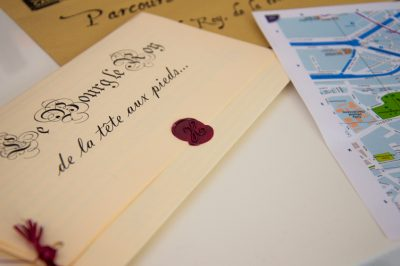document pour le circuit découverte de Caen ©Leslie LEFEBVRE