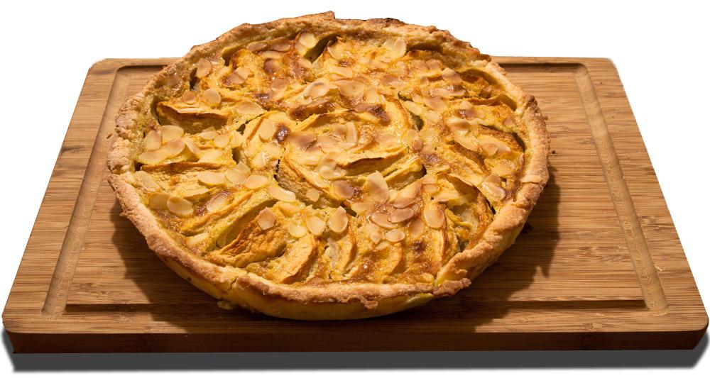La tarte aux pommes normande