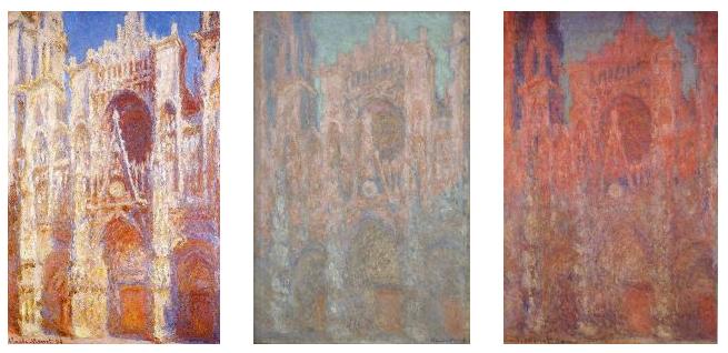 Cathédrale de Rouen peinte par Monet