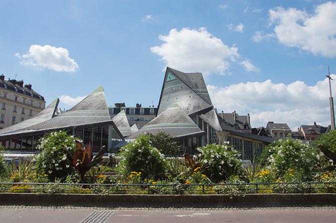 Eglise Jeanne d'Arc place du Vieux marché à Rouen
