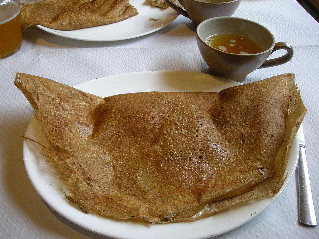 galette de sarrasin (blé noir)