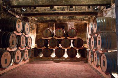 Les chais du Château du Breuil