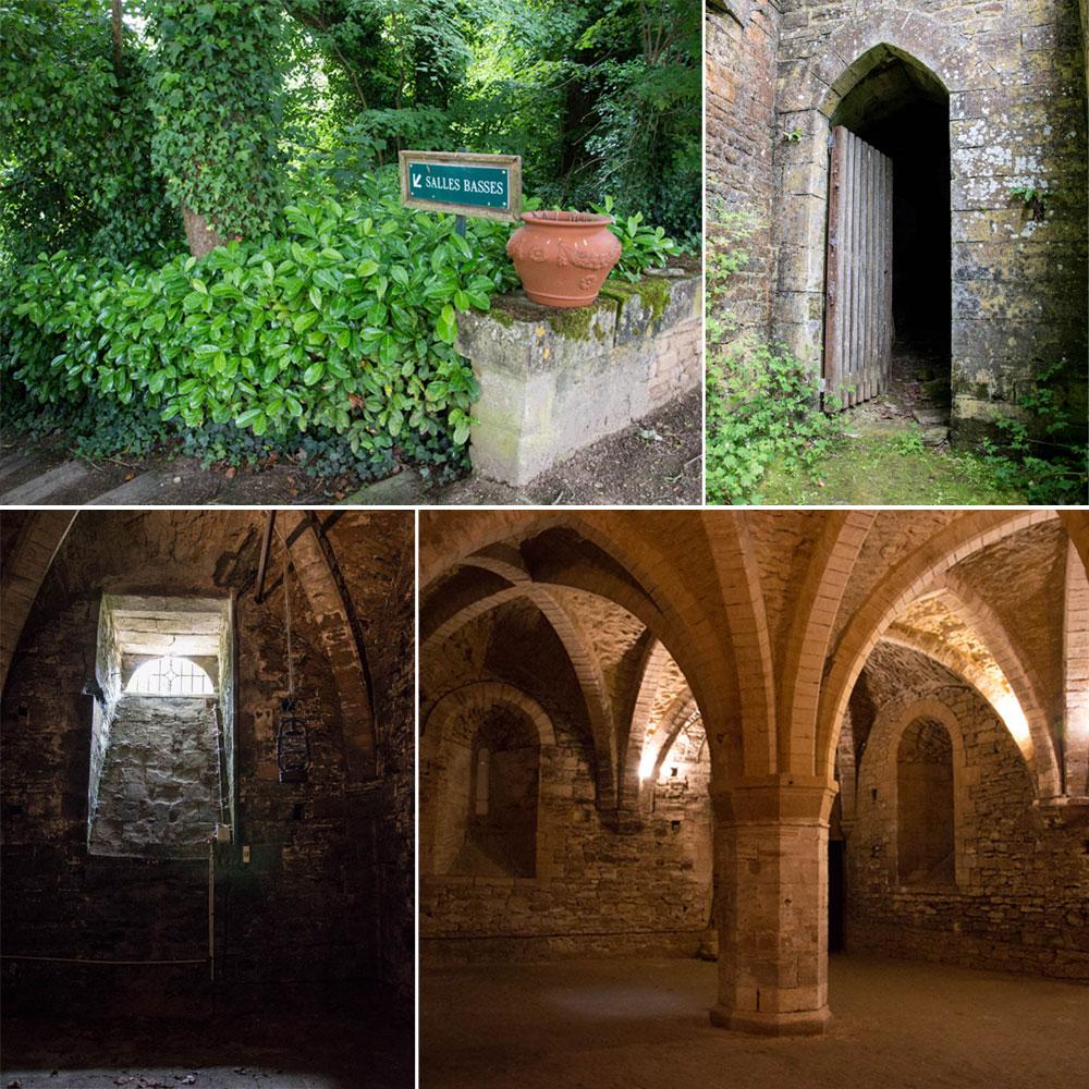 Les salles basses du château de Fontaine-Henry