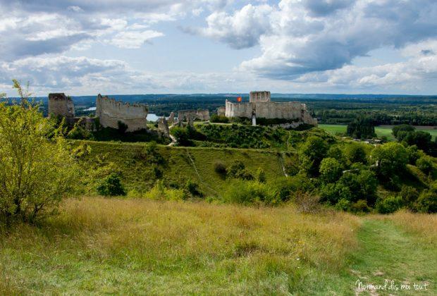 Le Château-Gaillard domine