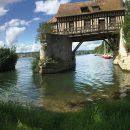 Le vieux moulin de Vernon en Normandie