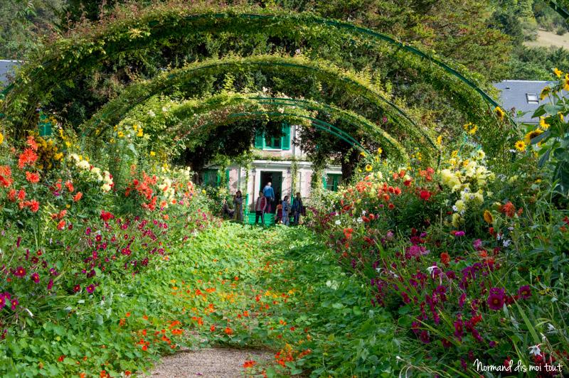 Les jardins de la maison de Monet
