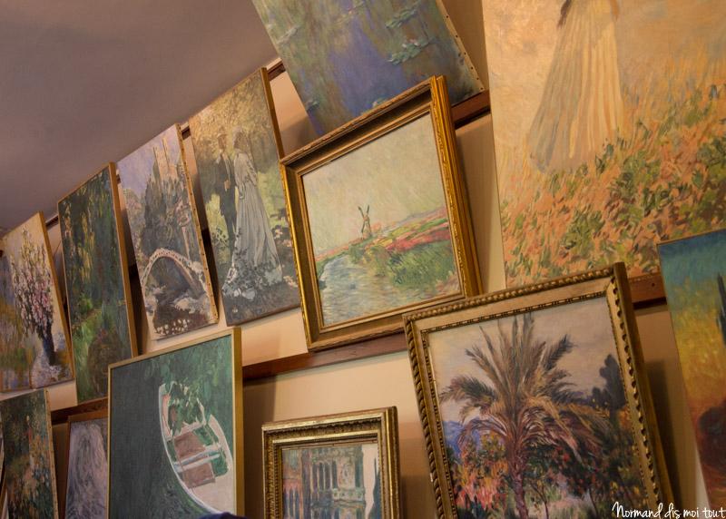 Les tableaux de Claude Monet