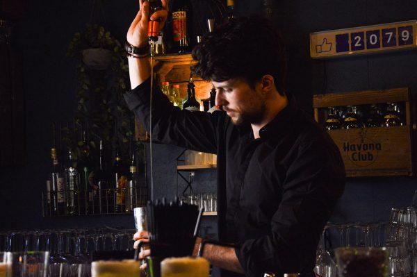 Cocktail au Calvados, bar la Quincaillerie à Caen