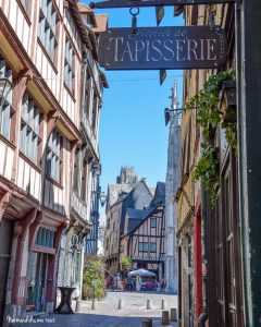 Quartier des Antiquaires à Rouen