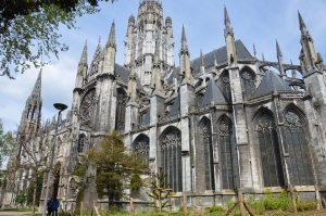 L'abbaye Saint Ouen à Rouen