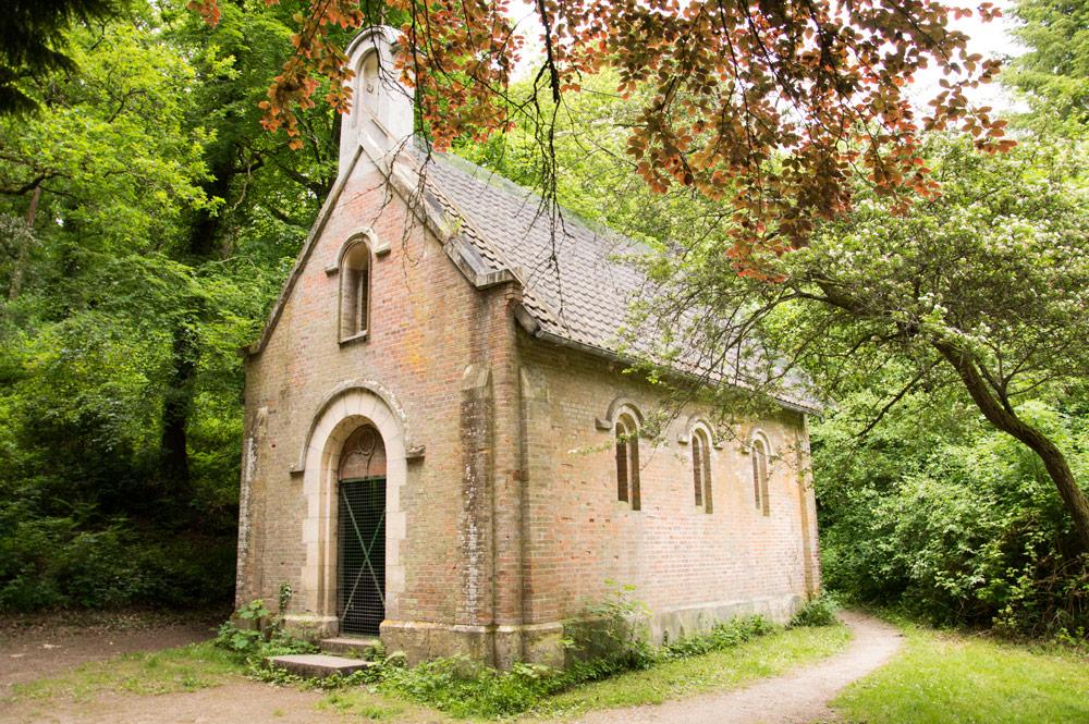 chapelle de la forêt de Grimbosq