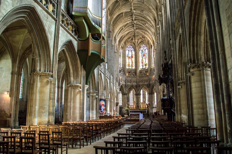 L'église Saint Pierre à Caen