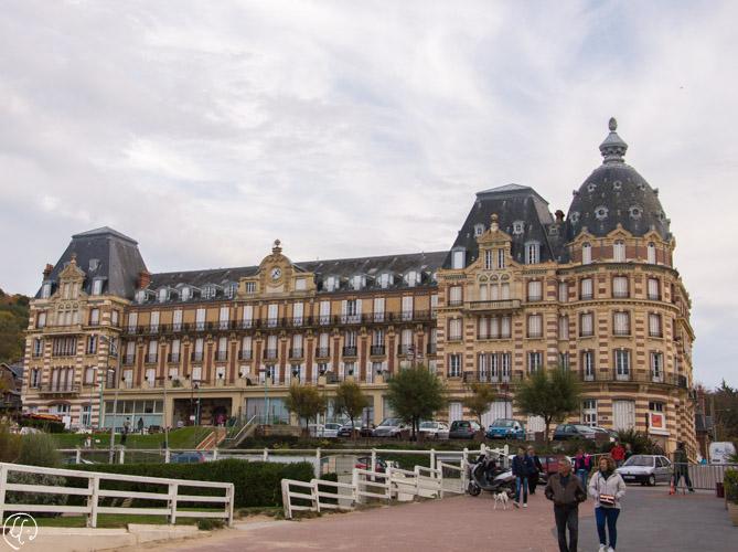 Ancien grand hôtel d'Houlgate, aujourd'hui transformé en résidence de luxe