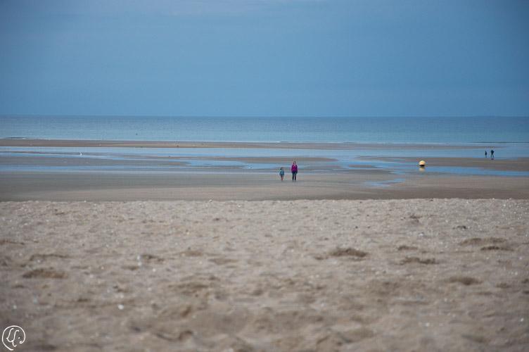 Plage de sable fin de Houlgate