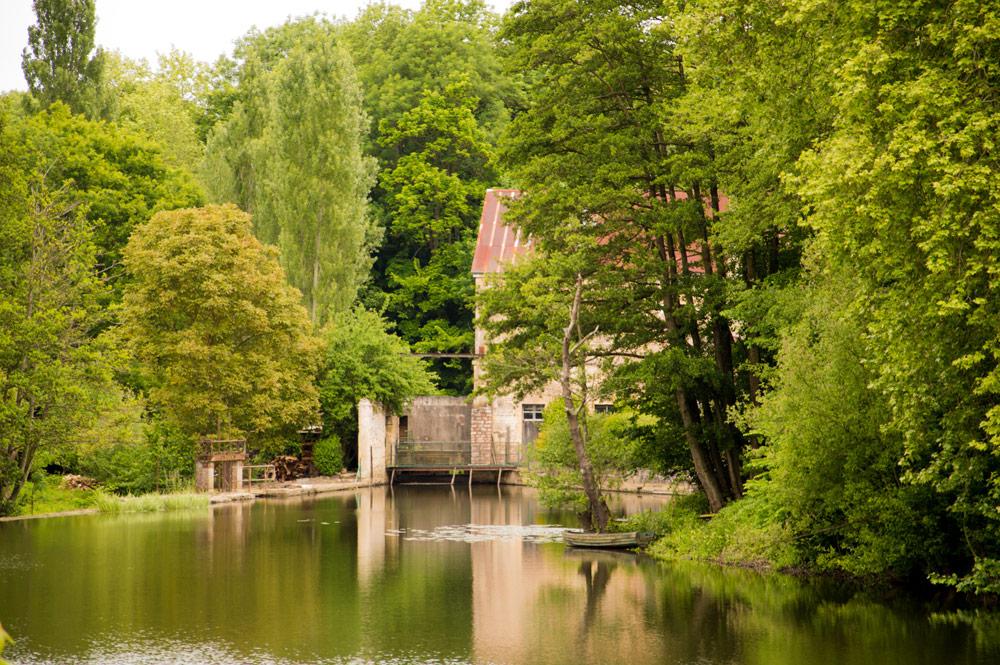 Maison des bords de L'Orne