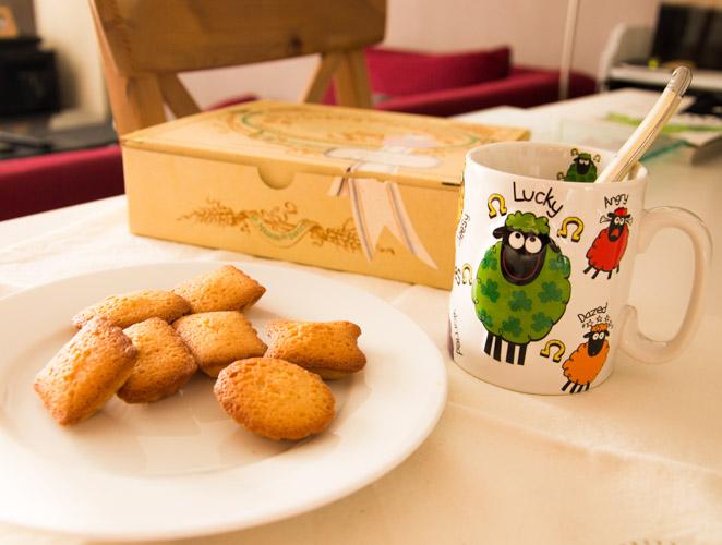 Les fameux petits fours financiers de la Maison du Biscuit
