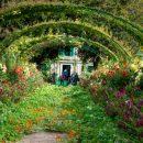 Les couleurs devant la maison de Monet