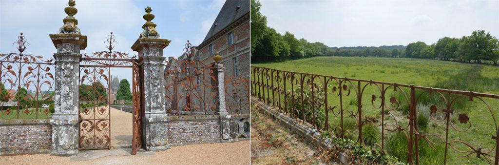 Les ferroneries du Château de Carrouges