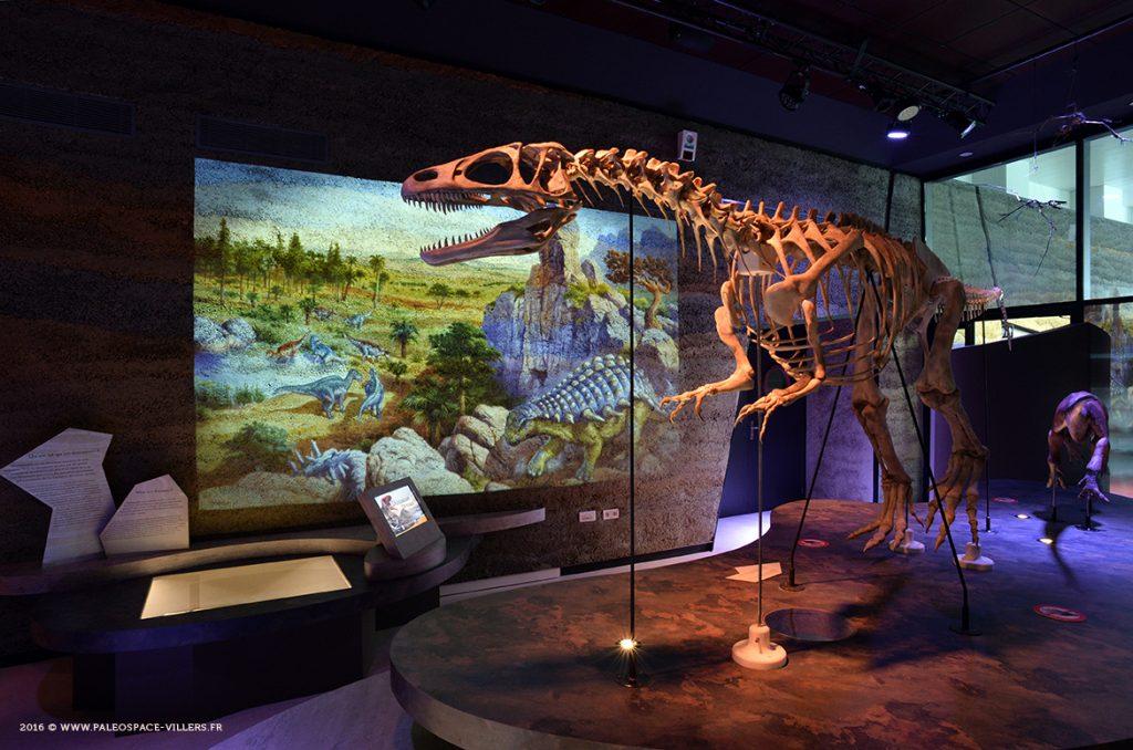 Salle des dinosaures du Paléospace @P-LEBRIS