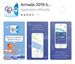 Application ARY pour tout savoir sur l'armada 2019