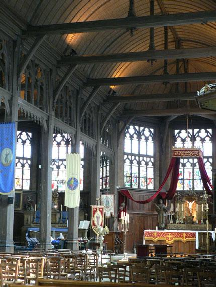 église d'Honfleur