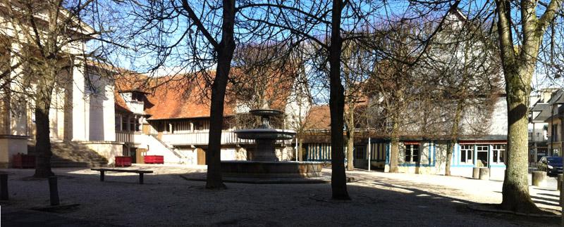 La place du Tribunal