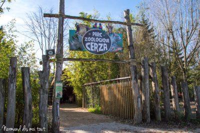 Entrée du zoo de Cerza