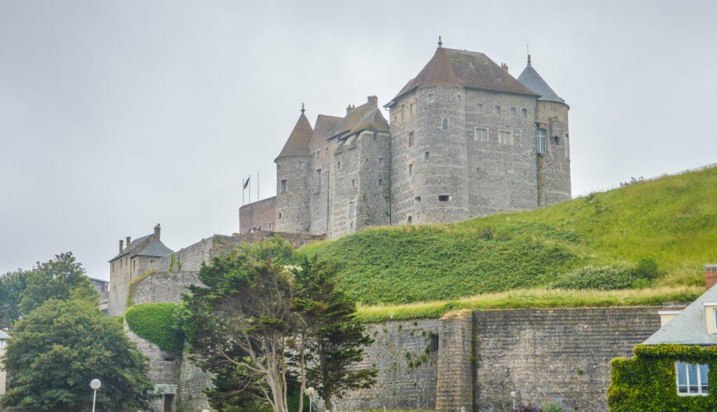 Le château de Dieppe