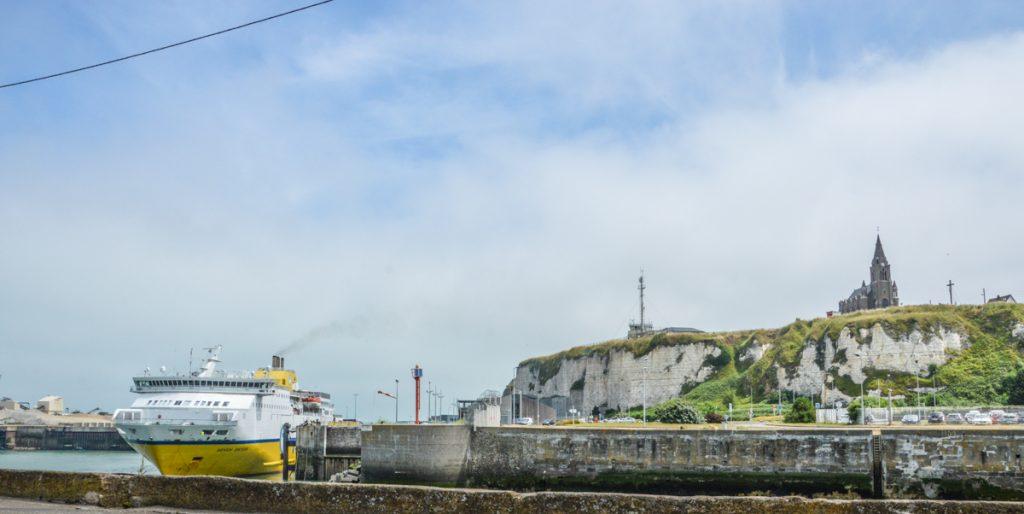 Le ferry à Dieppe