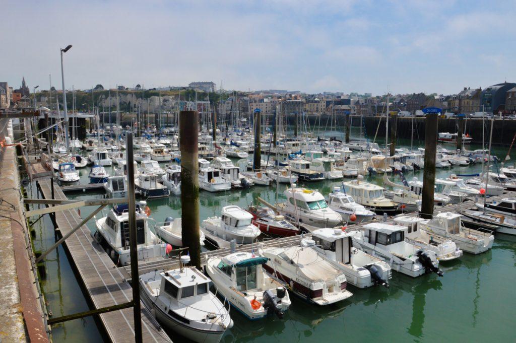 Le port de plaisance de Dieppe
