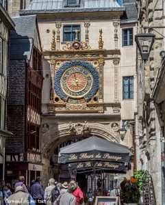 Rue du Gros Horloge à Rouen