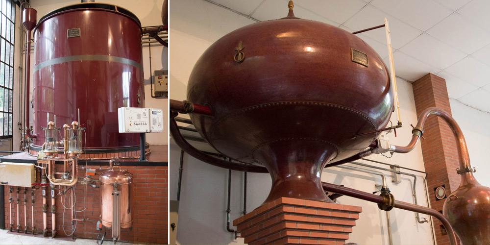 La double distillation