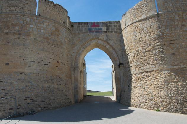 Entrée du Château de Falaise